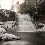 Swallow Falls - First Snow
