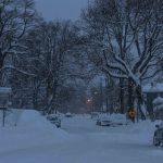 Second Street Winter Storm Jonas - Oakland, MD